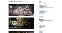 "Bike Porn 3 - Trek's ""Stages"" Bikes_1249007149578"