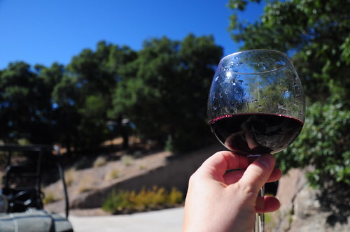 And the Mourvedre is tasting pretty good, too.