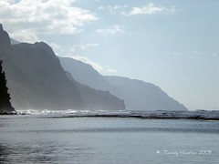 Mountains at Kee Beach (tammybeck) Tags: beach beautiful hawaii nikon kauai hi 2008 kee keebeach digitalcameraclub