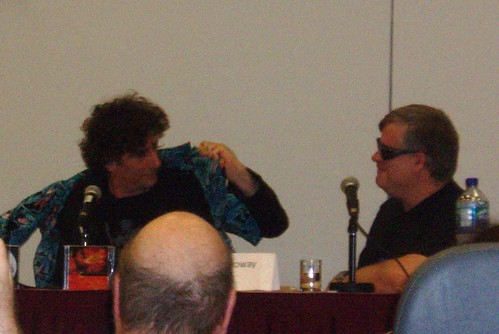 Neil Gaiman is interviewed by Tom Galloway for the Gaiman on Fandom panel at WorldCon 2009.