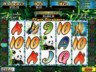 Tiger Treasure slot game online review