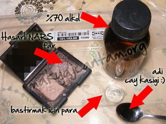 makyaj kozmetik cilt bakımı kırılan makyaj malzemeleriyle ne yapılır pigment pressleme