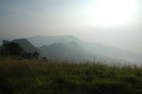 Long vistas from Phu Chee Fah