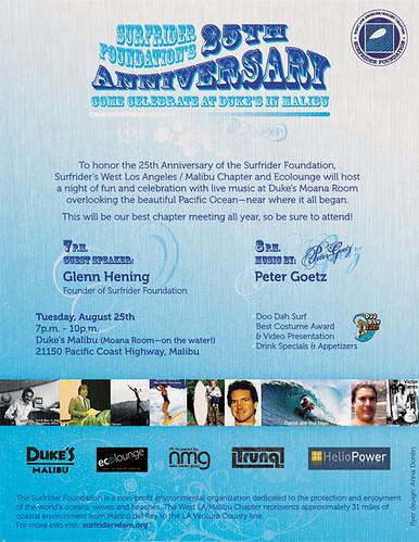Surfrider 25th Anniversary