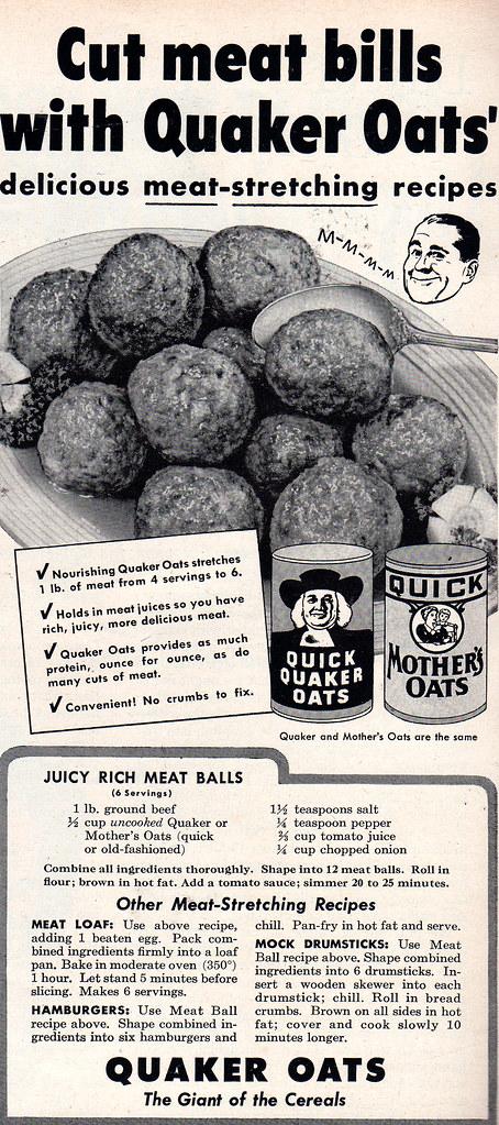 oatmeal meatballs