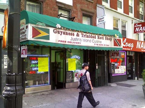 Guyanese and trinindad roti shop brooklyn jury duty lunch