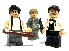 Inglourious Basterds (Sir Nadroj) Tags: brad lego pitt basterds brickarms inglorious
