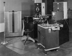 Photograph of Sound Recording Equipment from t...