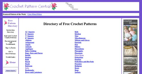 Crochet Pattern Central | My Little CityGirl