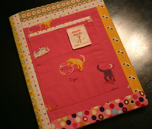 Patchwork Notebook - front