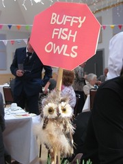 The tables were named after breeds of & interesting facts about owls.