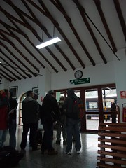 Poroy Station, just outside Cusco