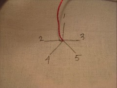 Quinta flower tutorial (Bordados DaAna) Tags: flower fleur thread movie video handmade embroidery pano flor feitomo fabric needle howto stitches filme quintaflower quinta fiore thursday jueves margarida ponto handstitched tutorial pap agulha amano linha tela tecido pontos bordado broderie youtube bordada passoapasso lazydaisy comofazer daana bordadomo