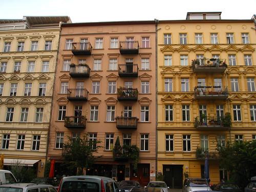Prenzlauerberg facades