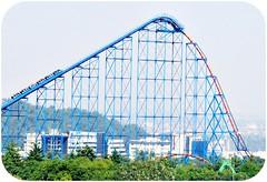 Superman El Ultimo Escape (Josu Pineda) Tags: park city parque de mexico escape samsung ciudad el flags superman roller theme montaa six coaster ultimo diversiones rusa nv3