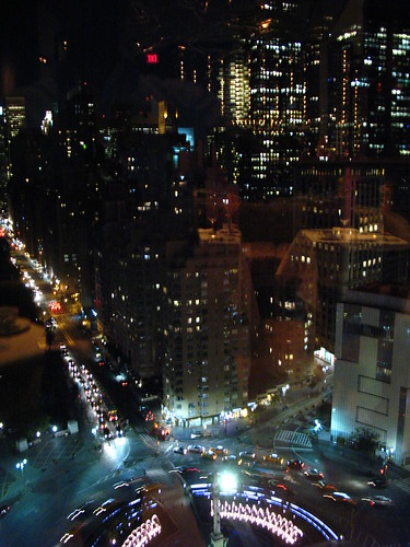 Vista su Columbus Circle da Asiate