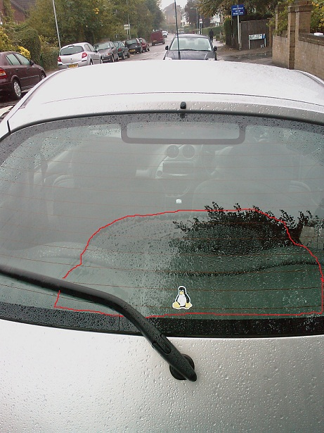 Having A Look At The Wiper Blade As It Moves Ive Noticed That The Rear Window Is Very Curved And I Was Wondering If This Is A Problem That Other Ka