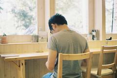 _眷戀。 (eliot.) Tags: film minolta brian hsinchu taiwan konica eliot dnp centuria himatic7s sohpiew 私人,藍調 好日時光