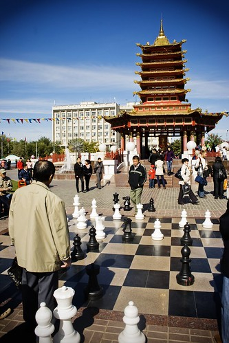Chess and Buddhism in Elista, Russia