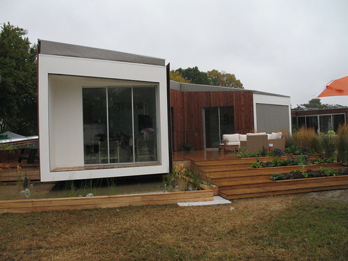 Solar-powered house