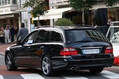 Mercedes-Benz E 63 AMG S211. (Tom Daem) Tags: 63 e knokke mercedesbenz amg cnoc