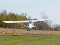 C-FHPP Aeronca Champion 7ACX @ St-Mathias CSP5 DSC_8634 (djipibi) Tags: airport champion 2009 aeronca aroport stmathias 7ac csp5 7acx cfhpp cubtoberfest