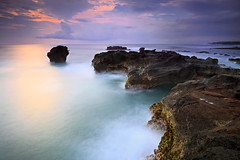 Ocean Breeze (tropicaLiving - Jessy Eykendorp) Tags: longexposure light sea sky bali seascape west beach nature water clouds indonesia coast rocks shoreline explore frontpage oceanbreeze canggu efs1022mmf3545usm cemagi outdoorphotography canoneos50d tropicaliving hoyandx400 hitechfilters mengeningbeach rawproccessedwithdigitalphotopro tiffproccessedwithadobephotoshopcs3