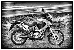 Honda XL700 Transalp (CWhatPhotos) Tags: pictures blackandwhite monochrome honda that photography photo blackwhite with photos picture have v adobe 700 abs xl 2009 transalp lightroom monochromed paintshopprophotox2 xl700v xl700 cwhatphotos