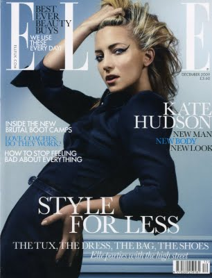 British Elle December Kate Hudson cover