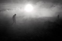 Sol de Maana (Nilton Ramos Quoirin) Tags: silhouette backlight contraluz desert smoke bolivia desierto silueta geyser humo salar sal altiplano uyuni potos saltflat geiser tunupa soldemaana