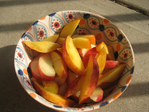 A Big Bowl of Peaches