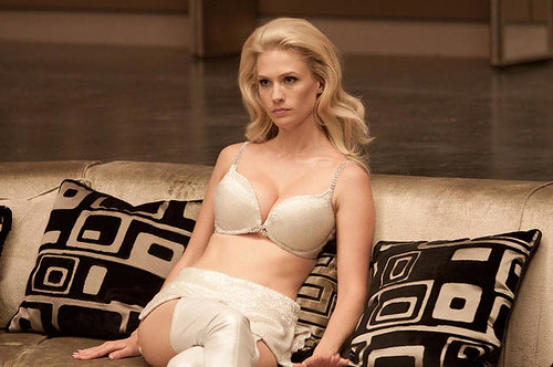 January Jones as Emma Frost in X-Men: First Class (2011)
