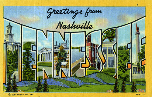 postcard nashville