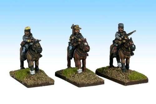 Mounted Rebs