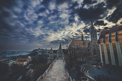 Budapest (Vagelis Pikoulas) Tags: budapest buda pest hungary travel europe 2016 november autumn fishermen bastion castle landscape city cityscape sky sunset clouds cloud cloudy dramatic full frame canon 6d tokina 1628mm