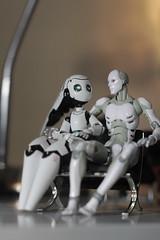 1/12 Bots - Dating (TKatagiri) Tags: figma 1000toys synthetichuman drossel fireball charming juohmaru sakurahime bodykun