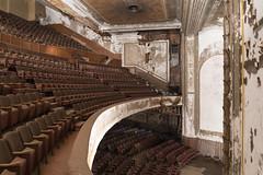 VictorySideStage (www.vanishingnewengland.com) Tags: victory theater holyoke massachusetts abandoned urbex dark decay bryan buckley vanishing new england ue