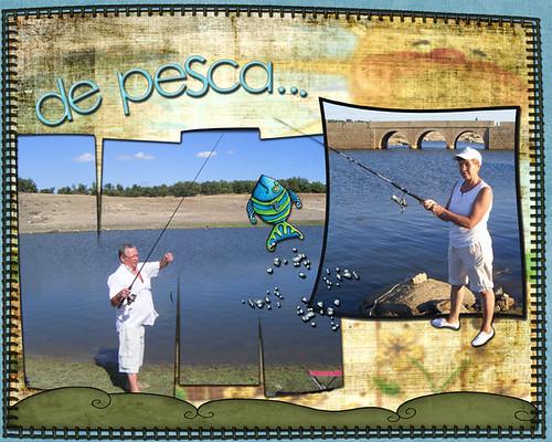 de pesca...
