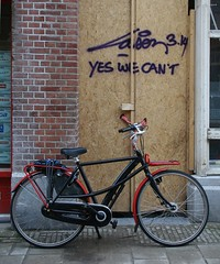 yes we can't by drooderfiets