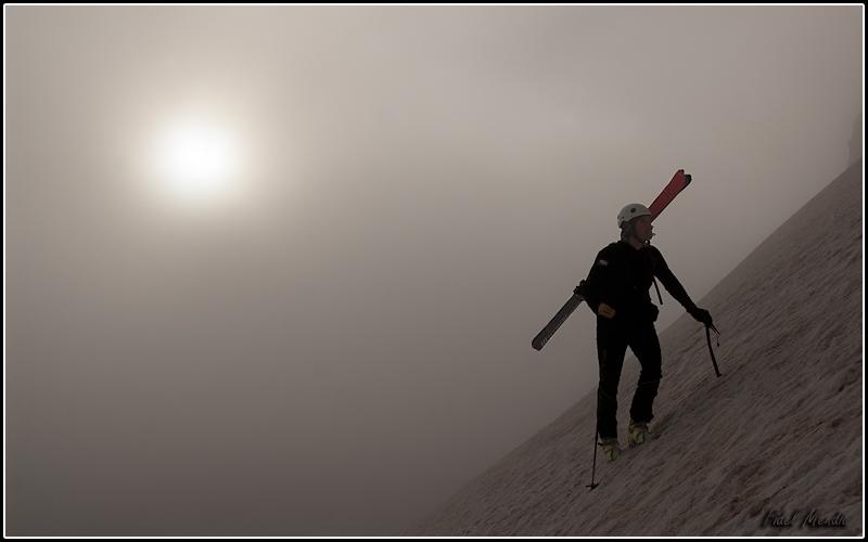 Rafa en la niebla