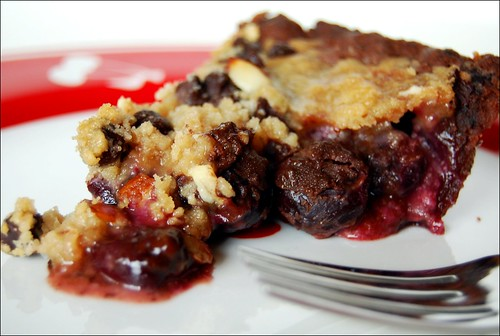cinnamon pecan cherry pie cherry pie with streusel sour cherry pie ...