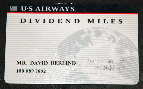 My USAir Card