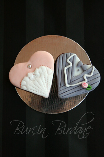 Bride-Groom Cookie Set G