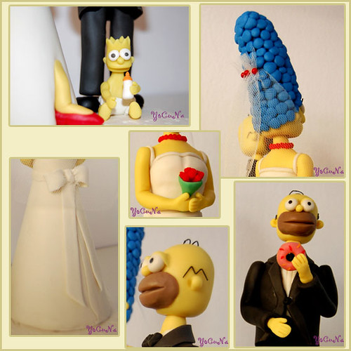 The Simpsons Cake Topper