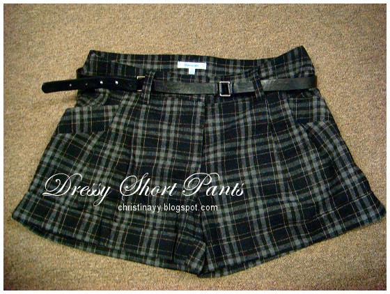 Valley Girl: Dressy Short Pants