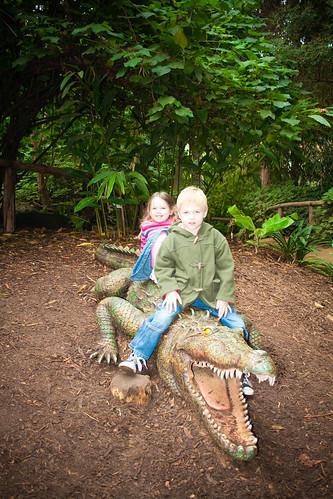On the Croc