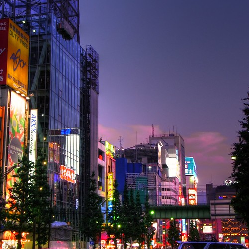 Akihabara at Evening
