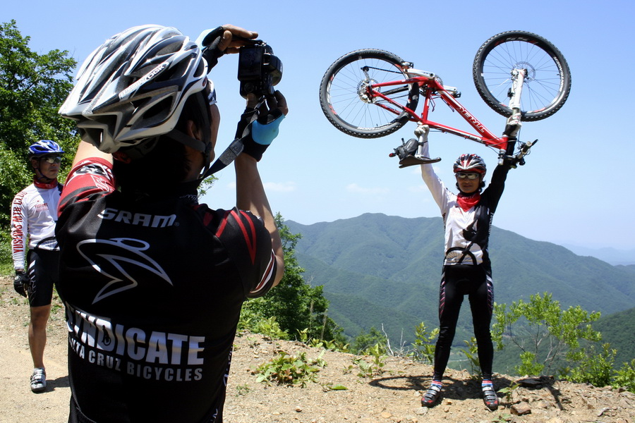 Incredible bike tsarina