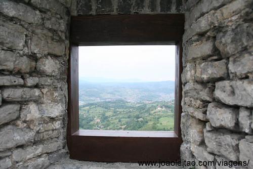 Srebrnik Castle in Bosnia and Herzegovina