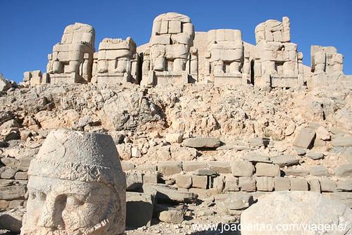 Monte Nemrut Dag, Monte dos Deuses UNESCO, Turquia